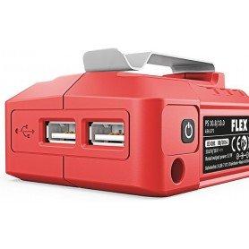 Cargador USB FLEX 10,8/18V