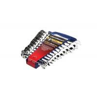 Juego de llaves combinadas de carraca articulada Gearwrench Flex12 piezas