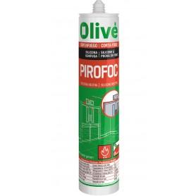 Silicona neutra ignifuga Olive