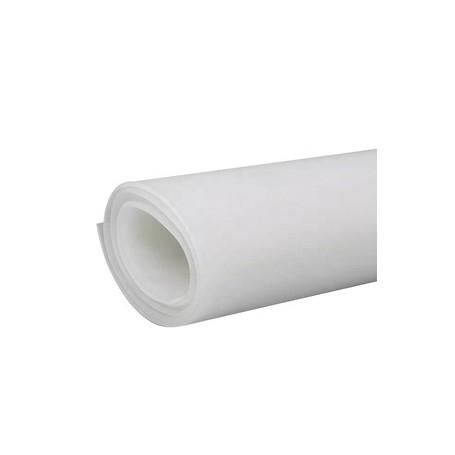 Plancha de silicona traslúcida