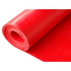 Plancha de silicona roja