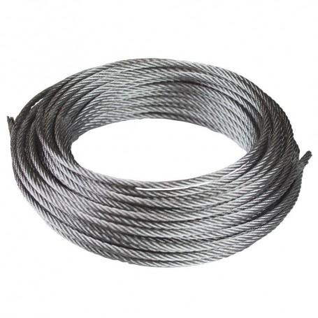 Cable de acero DIN-3055 6x7+1 galvanizado