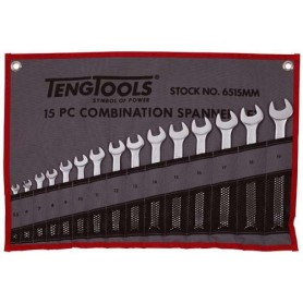 Juego de llaves combinadas bolsa 15 piezas TengTools
