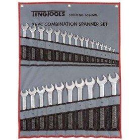 Juego de llaves combinadas bolsa 26 piezas TengTools