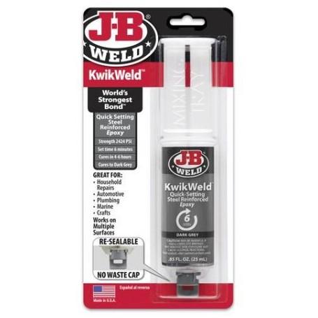 Adhesivo Epoxy reforzado de acero JB Weld