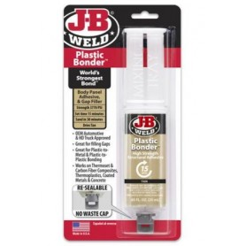 Adhesivo Epoxy específico para plásticos JB Weld