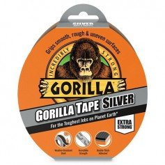 Cinta americana plata Gorilla