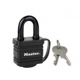 Candado MasterLock protección termoplástica ancho 40mm