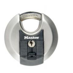 Candado MasterLock inox arco octogonal