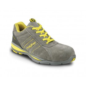 Zapato de seguridad J'Hayber Goal Gris S1P HRO SRC