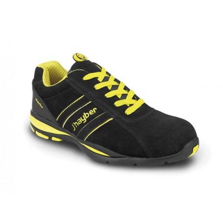 Zapato de seguridad J'Hayber Goal Negro S1P HRo SRC