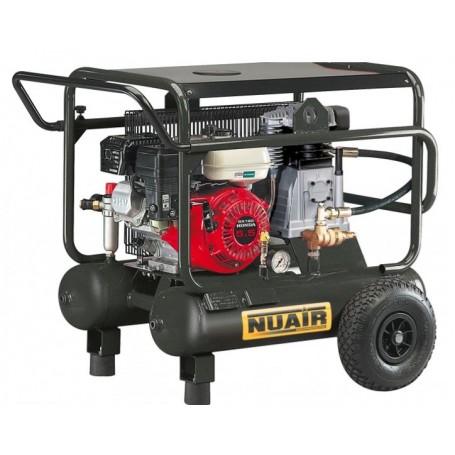 Compresor de pistón Nuair B3800 gasolina 5,5cv 10+10L