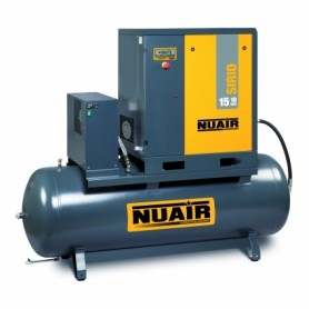 Compresor de tornillo Nuair Sirio 15cv 500L