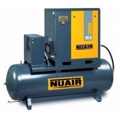Compresor de tornillo Nuair Sirio 20cv 500L