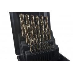 Juego de brocas HSS CO 1-13mm Castillo Tivoly