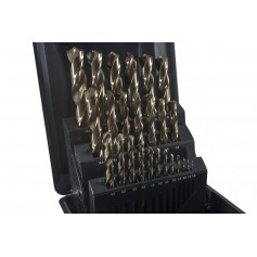 Juego de brocas HSS CO 1-13mm 25pcs Tivoly