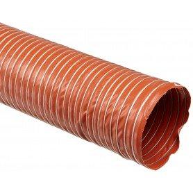 Tubo aspiración silicona con fibra de vidrio doble capa
