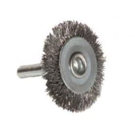 Cepillo circular acero tivoly para taladro
