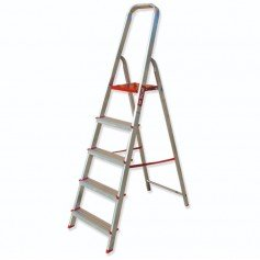 Escalera tijera doméstica con arco de seguridad Scal