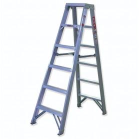 Escalera tijera doble acceso aluminio Scal