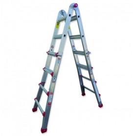 Escalera telescópica transformable aluminio Scal