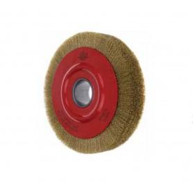 Cepillo circular de alambre ondulado Jaz casquillo roscado M14 5 hileras