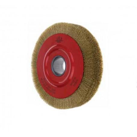 Cepillo circular alambre ondulado Jaz M14 5 hileras