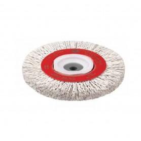 Cepillo circular alambre ondulado plastificado Jaz