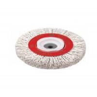 Cepillo circular con alambre ondulado plastificado Jaz Øext 150mm