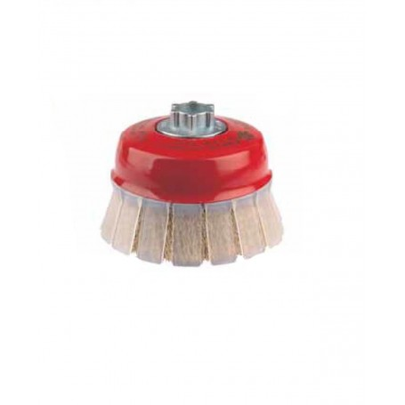 Cepillo taza con guarda protectora ondulado Jaz 0.30mm