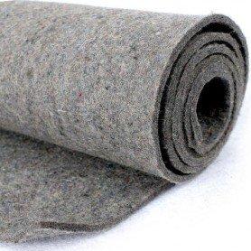 Fieltro de lana gris 75%
