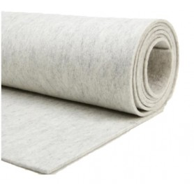 Fieltro lana blanco 90%