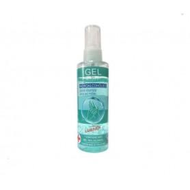 Bote gel hidroalcohol 100 ml pulverizador
