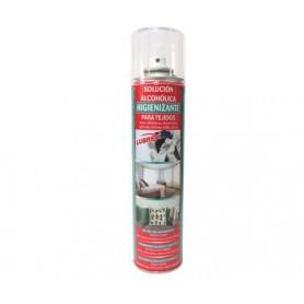 Spray solución alcohólica higienizante tejidos