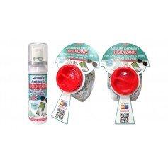 Bote spray alcohólico higienizante 17ml