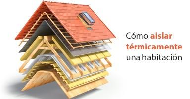 Cómo aislar térmicamente una habitación