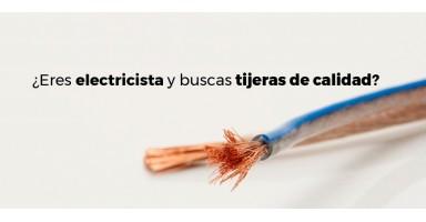 ¿Eres electricista y buscas tijeras de calidad?
