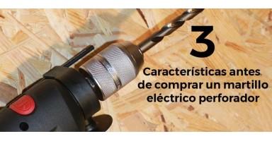 3 características antes de comprar un martillo eléctrico perforador
