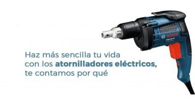Haz más sencilla tu vida con los atornilladores eléctricos, te contamos por qué