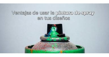 Ventajas de usar la pintura de spray en tus diseños