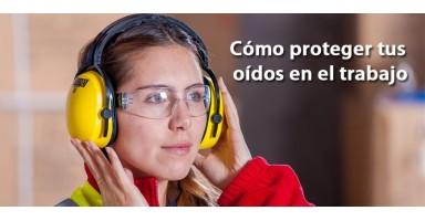 Lo que necesitas para proteger perfectamente tus oídos durante el trabajo